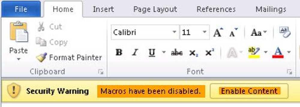 Ce este Virusul Macro? Cum se activează sau se dezactivează macro ...